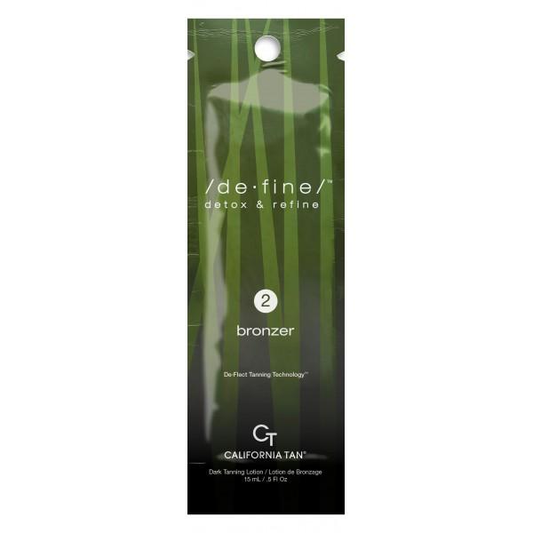 California Tan - De Fine™ Bronzer - Step 2 Bronzer - Linea De Fine - Lozione Abbronzante Professionale - 15 ml