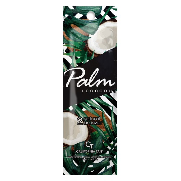 California Tan - Palm + Coconut™ Natural Bronzer - Step 2 Bronzer - Palm Collection - Lozione Abbronzante Professionale - 15 ml