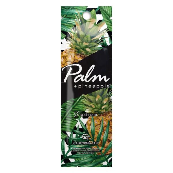 California Tan - Palm + Pineapple™ Optimizer - Step 2 Optimizer - Palm Collection - Lozione Abbronzante Professionale - 15 ml