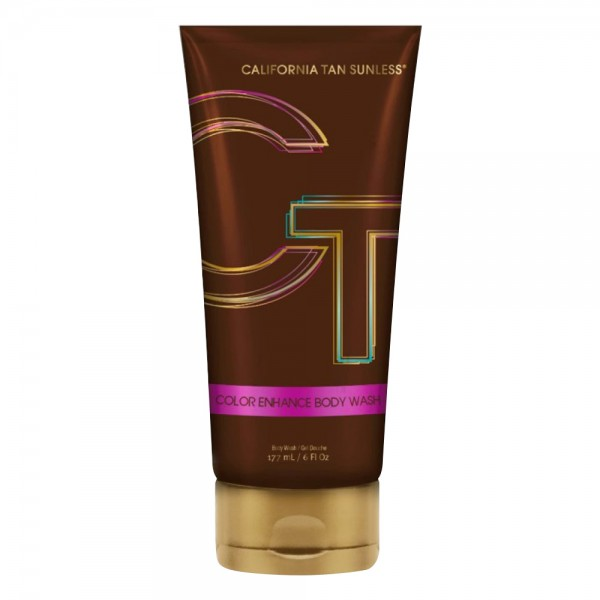 California Tan - Color Enhance Body Wash - Step 3 Perfect - CT Sunless Collection - Professional Tanning Lotion