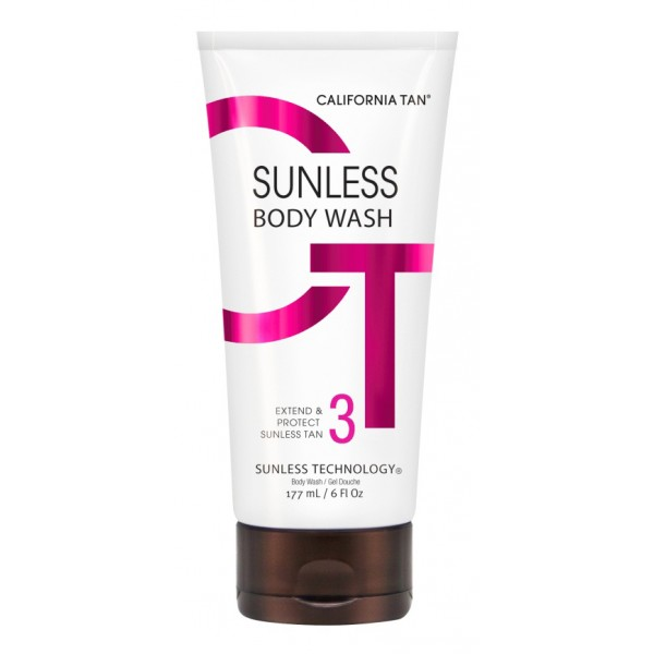 California Tan - Sunless Body Wash - Step 3 Perfect - CT Sunless Collection - Professional Tanning Lotion