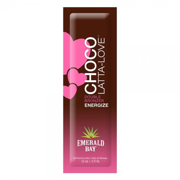California Tan - Choco-Latta-Love® - Double Bronzer - Emerald Bay - Lozione Abbronzante Professionale - 15 ml