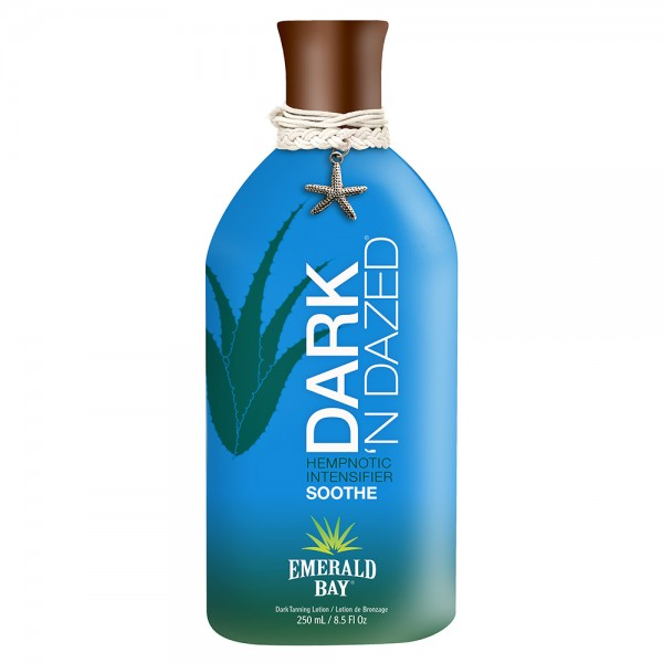 California Tan - Dark 'N Dazed® - Hempnotic Intensifier - Emerald Bay - Lozione Abbronzante Professionale