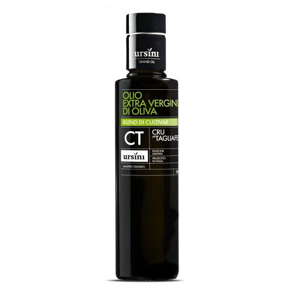 "Ursini - Cru ""Tagliaferri"" - Mid-Fruity Flavour - Blend of Cultivar - Organic Italian Extra Virgin Olive Oil - 250 ml"