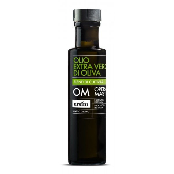 Ursini - Opera Mastra - Mid-Fruity Flavour - Blend of Cultivar - Organic Italian Extra Virgin Olive Oil - 100 ml
