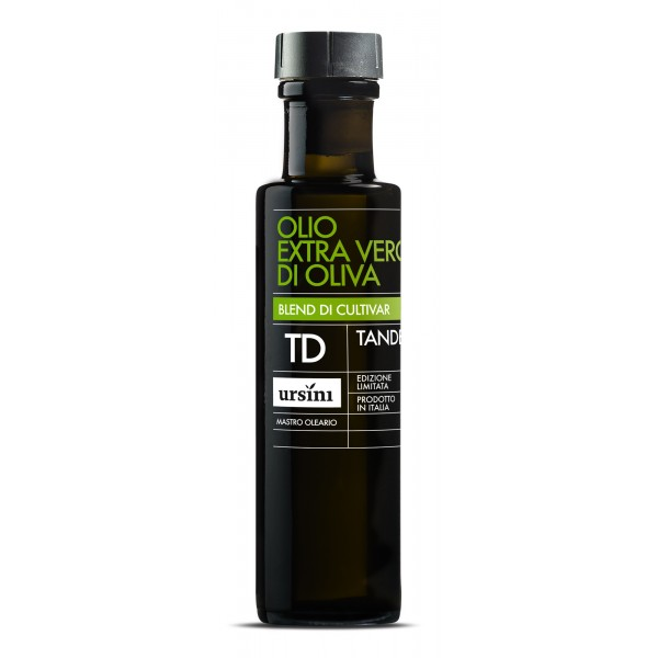 Ursini - Tandem - Intense-Fruity Flavour - Blend of Cultivar - Organic Italian Extra Virgin Olive Oil - 100 ml