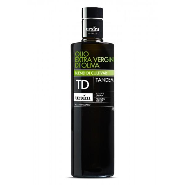 Ursini - Tandem - Fruttato Intenso - Blend di Cultivar - Olio Extravergine di Oliva Italiano - 500 ml