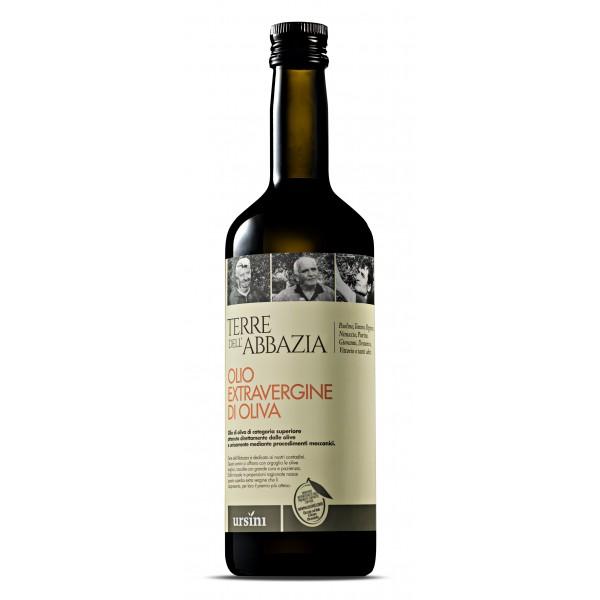 Ursini - Terre dell'Abbazzia - Fruttato Leggero - Blend di Cultivar - Olio Extravergine di Oliva Italiano - 750 ml