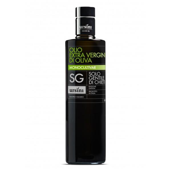 Ursini - Gentile di Chieti - Sweet-Fruity Flavour - Monocultivar - Organic Italian Extra Virgin Olive Oil - 500 ml