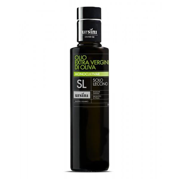 Ursini - Solo Leccino - Harmonic-Sweet Flavour - Monocultivar - Organic Italian Extra Virgin Olive Oil - 250 ml
