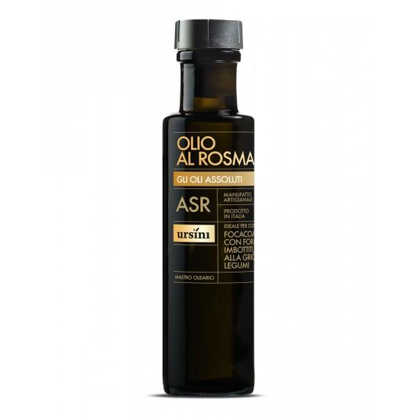 Ursini - Olio al Rosmarino - Oli Assoluti - Olio Extravergine di Oliva Italiano - 100 ml