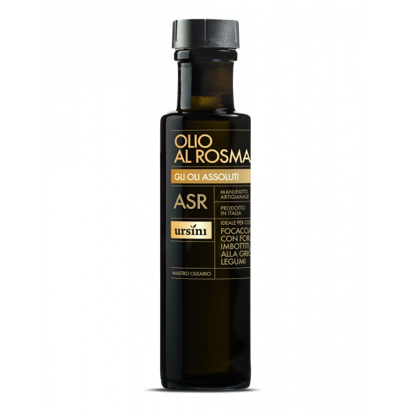 Ursini - Rosemary Olive Oil - Absolute Oils - Organic Italian Extra Virgin Olive Oil - 100 ml