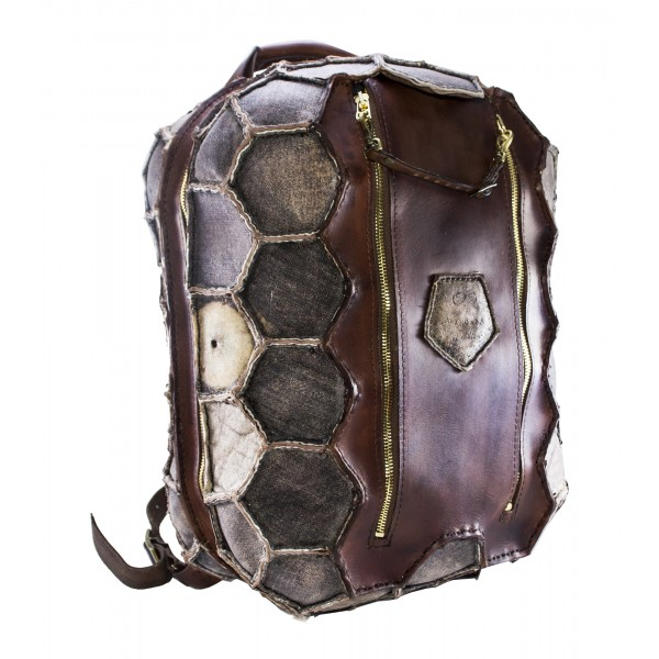 PangaeA - Backpack Vintage - PangaeA Backpack - Artisan Leather Backpack