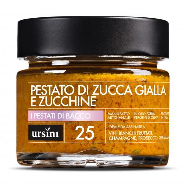 Ursini - Pestato di Zucca Gialla e Zucchine - 25 - Pestati di Bacco® - Olio Extravergine di Oliva Italiano