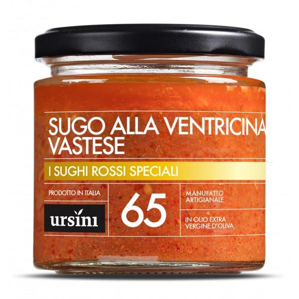 Ursini - Sugo alla Ventricina del Vastese - 65 - I Rossi Speciali - Sughi - Olio Extravergine di Oliva Italiano