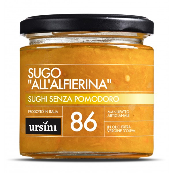 Ursini - Alfierina Sauce - 86 - Without Tomatoes - Sauces - Organic Italian Extra Virgin Olive Oil
