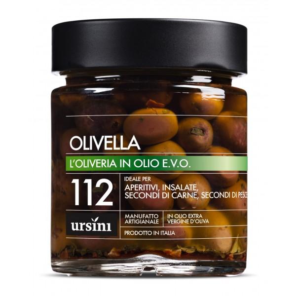 Ursini - Olivella - 112 - In Olio Extravergine - Oliveria - Olio Extravergine di Oliva Italiano