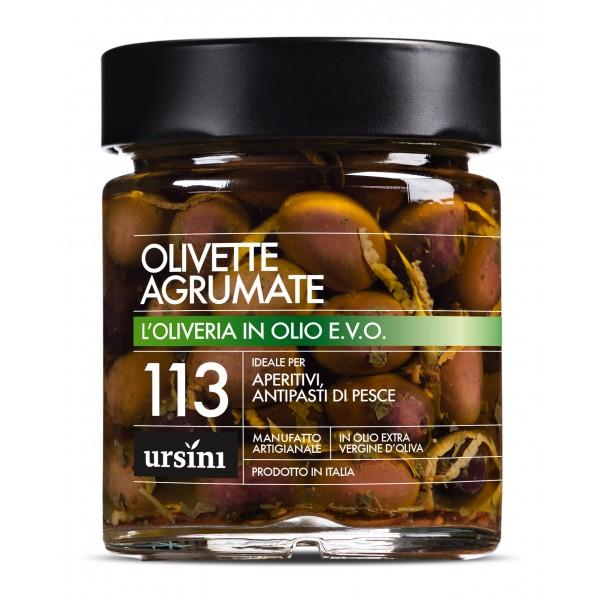 Ursini - Olivette Agrumate - 113 - In Olio Extravergine - Oliveria - Olio Extravergine di Oliva Italiano
