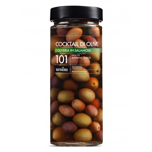 Ursini - Cocktail di Olive - 101 - In Salamoia - Oliveria - Olive Italiane