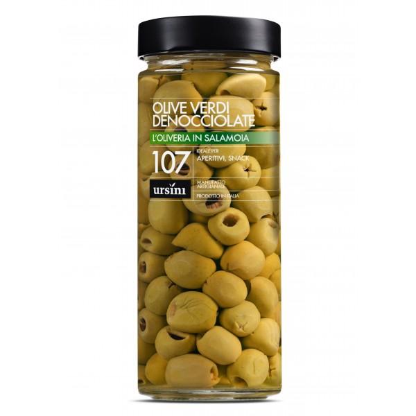 Ursini - Olive Verdi Denocciolate - 107 - In Salamoia - Oliveria - Olive Italiane