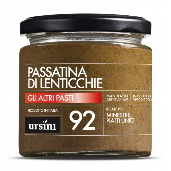 Ursini - Passatina di Lenticchie - 92 - Altri Pasti - Olio Extravergine di Oliva Italiano