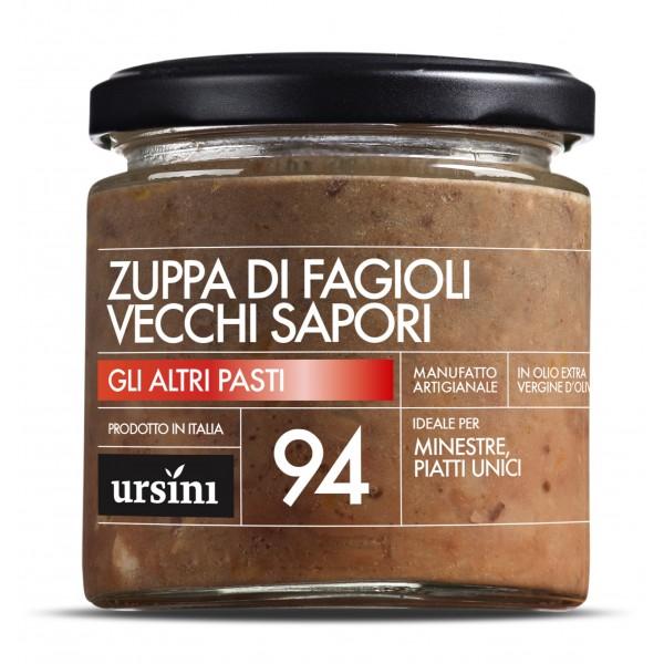 Ursini - Zuppa di Fagioli Vecchi Sapori - 94 - Altri Pasti - Olio Extravergine di Oliva Italiano