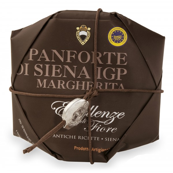 Fiore - Panforte of Siena since 1827 - Panforte of Siena I.G.P. Margherita - Excellences of Fiore - Hand Wrapped