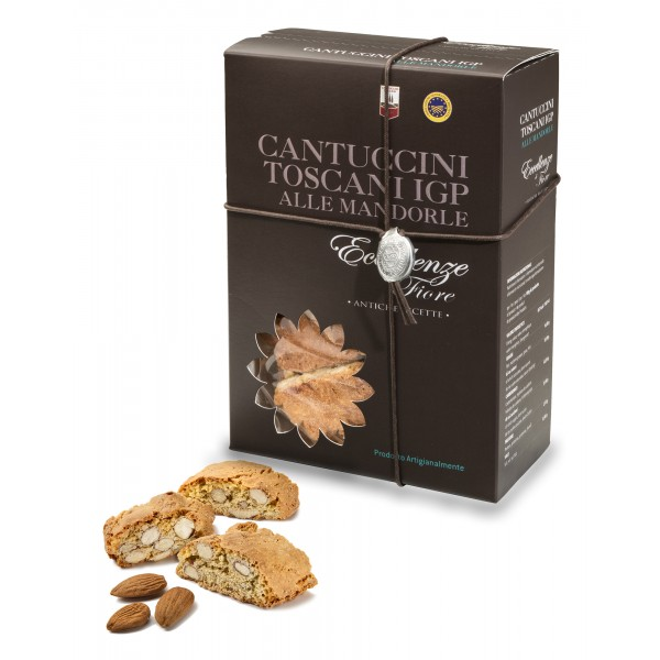 Fiore - Panforte of Siena since 1827 - Cantucci Toscani with Almonds I.G.P. - Excellences of Fiore - Gift Box