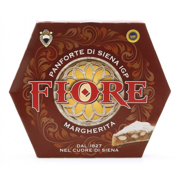 Fiore - Panforte of Siena since 1827 - Panforte of Siena I.G.P. Margherita - Panforte - Box - 340 g