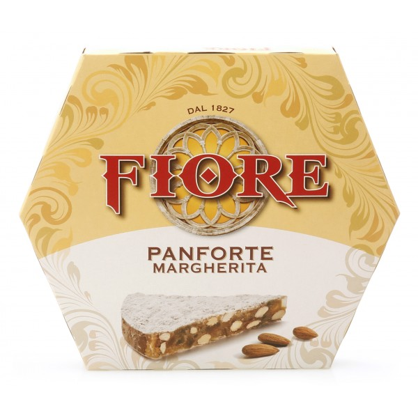 Fiore - Panforte of Siena since 1827 - Traditional Panforte Margherita - Panforte - Box - 100 g