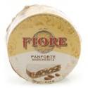 Fiore - Panforte di Siena dal 1827 - Panforte Margherita Tradizionale - Panforte - Confezione Gigantino Cellophane - 500 g