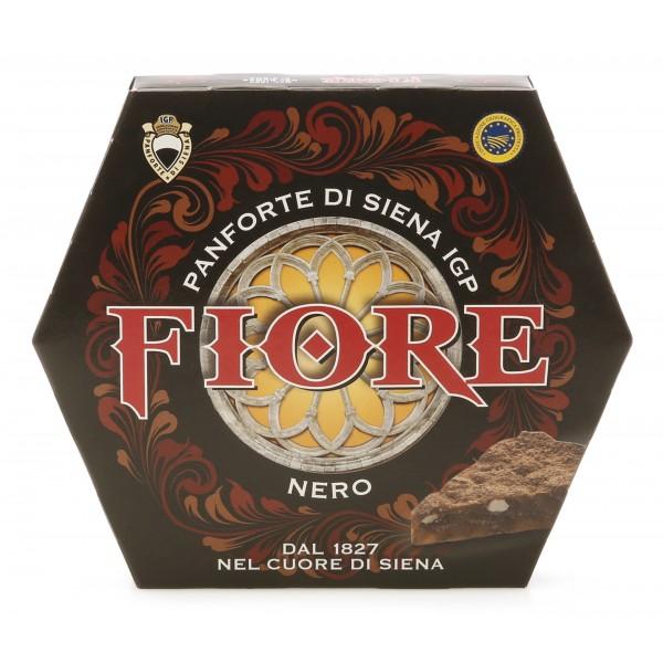 Fiore - Panforte di Siena dal 1827 - Panforte di Siena I.G.P. Nero - Panforte - Confezione - 227 g