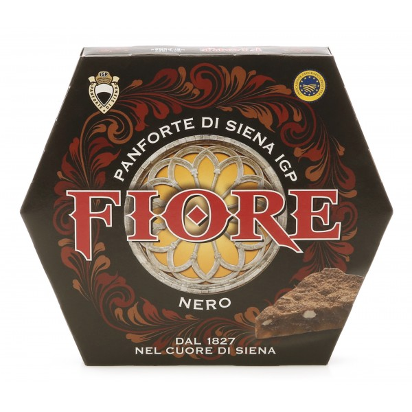 Fiore - Panforte of Siena since 1827 - Panforte of Siena I.G.P. Black - Panforte - Box - 227 g