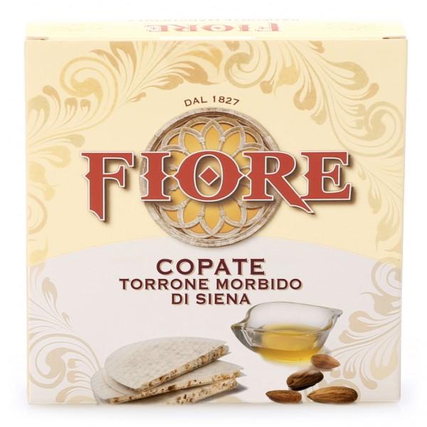 Fiore - Panforte di Siena dal 1827 - Copate - Torrone Morbido di Siena - 100 g