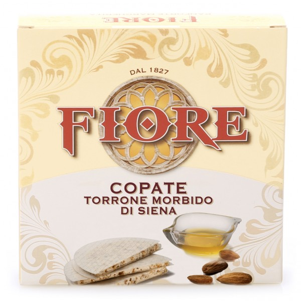 Fiore - Panforte of Siena since 1827 - Copate - Soft Nougat from Siena - Box - 100 g