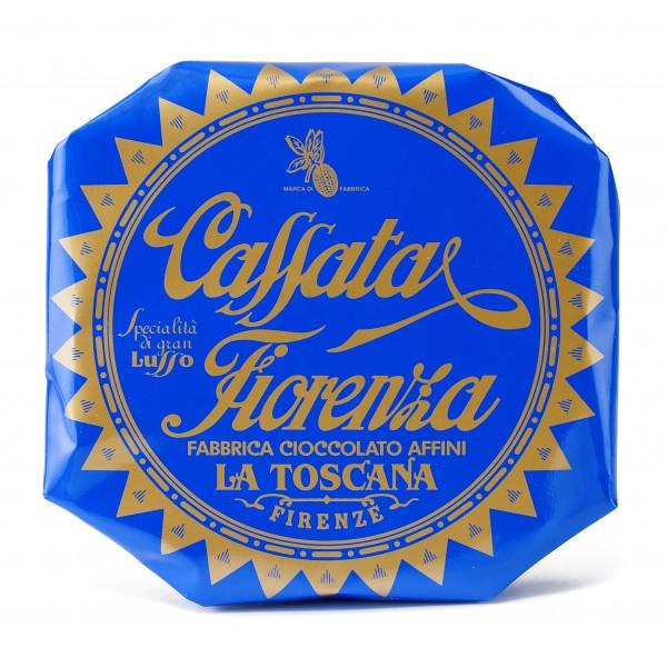 Fiore - Panforte di Siena dal 1827 - Cassata Fiorenza - Antico Dolce Fiorentino - Incartato a Mano - 270 g