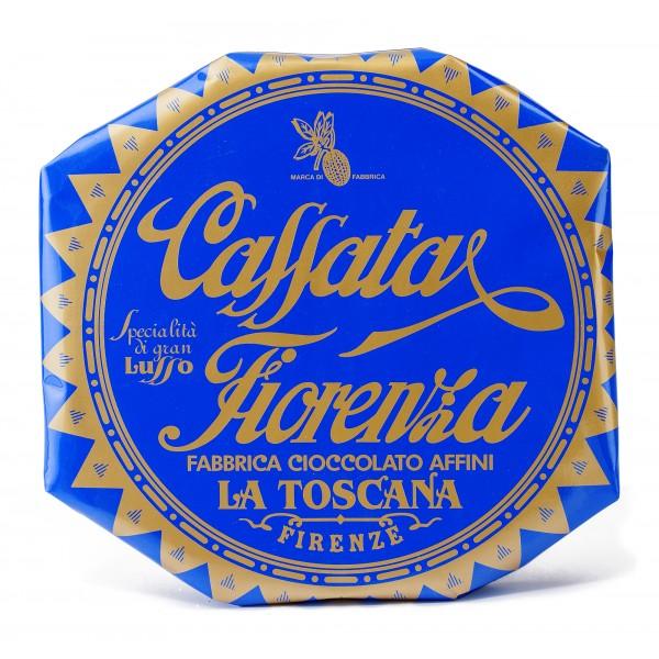 Fiore - Panforte di Siena dal 1827 - Cassata Fiorenza - Antico Dolce Fiorentino - Incartato a Mano - 500 g