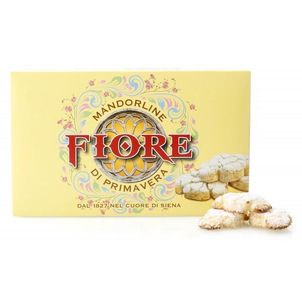 Fiore - Panforte di Siena dal 1827 - Mandorline di Primavera di Siena - Pasticceria - Confezione Gialla - 72 g