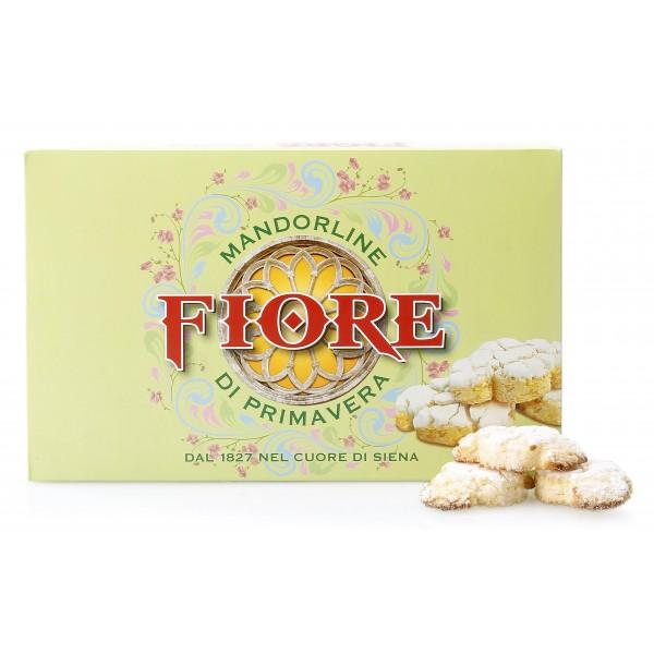 Fiore - Panforte di Siena dal 1827 - Mandorline di Primavera di Siena - Pasticceria - Confezione Verde - 72 g
