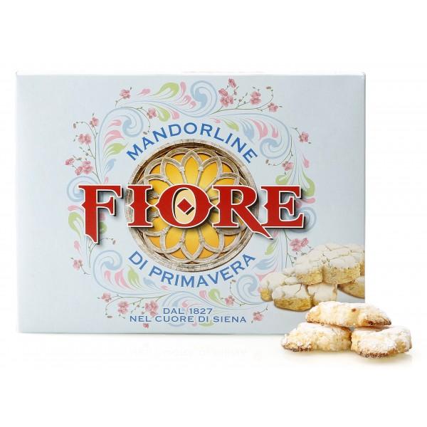 Fiore - Panforte di Siena dal 1827 - Mandorline di Primavera di Siena - Pasticceria - Confezione Blu - 145 g