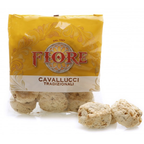 Fiore - Panforte di Siena dal 1827 - Cavallucci Tradizionali Toscani - Pasticceria - Confezione - 460 g