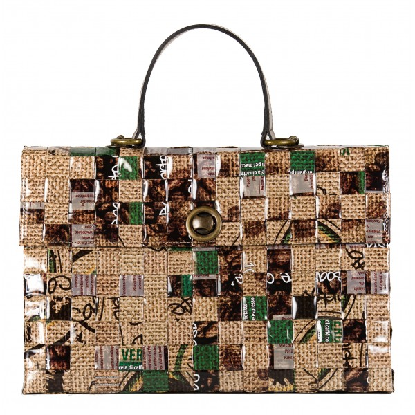 Meraky - Shakerato Juta - Shakerato - Convertible Bag - Aroma Collection - Borsa Donna