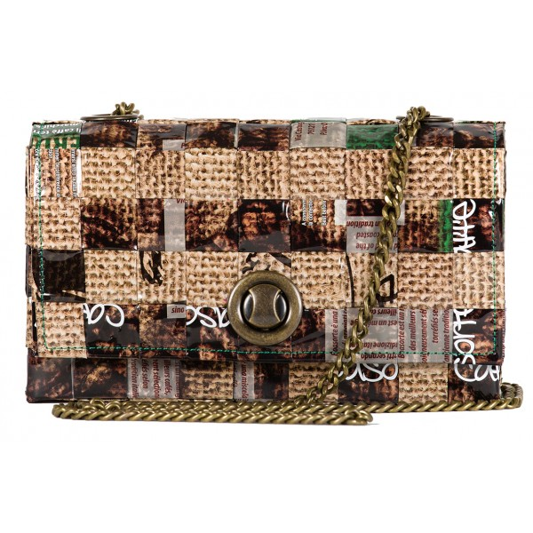 Meraky - Espresso Juta - Espresso - Chatelaine Bag - Aroma Collection - Women's Bag