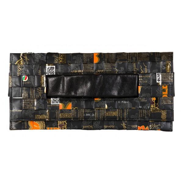 Meraky - Ristretto Oro Nero - Ristretto - Clutch - Aroma Collection - Borsa Donna