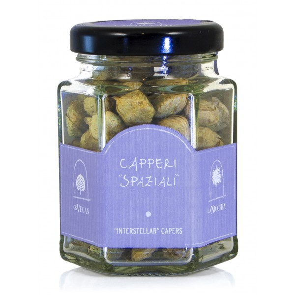 La Nicchia - Capers of Pantelleria since 1949 - Interstellar Capers - 6 g