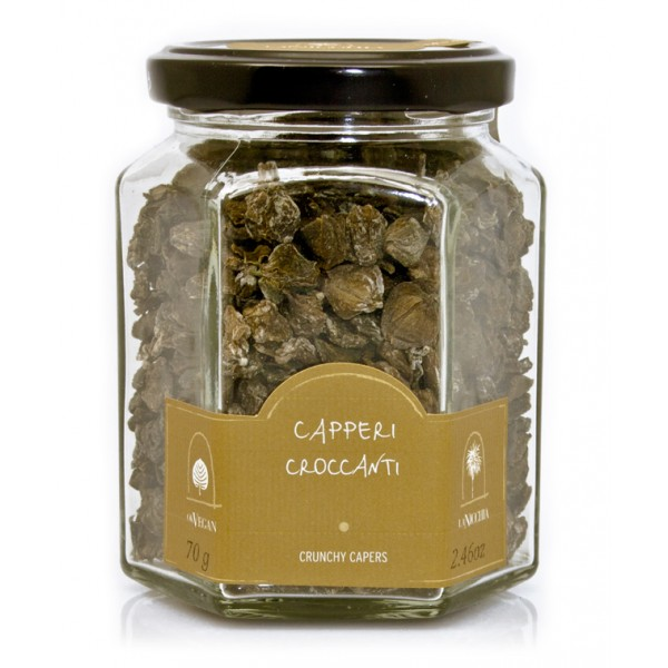 La Nicchia - Capers of Pantelleria since 1949 - Crunchy Capers - 70 g