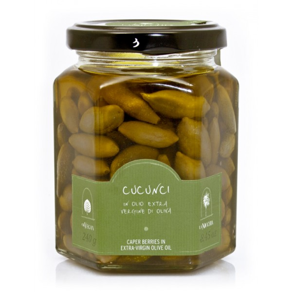 La Nicchia - Capers of Pantelleria since 1949 - Caper Leaves in Extra-Virgin Olive Oil - 220 g