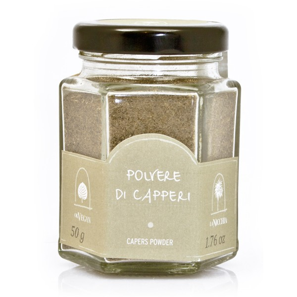 La Nicchia - Capers of Pantelleria since 1949 - Capers Powder - 50 g