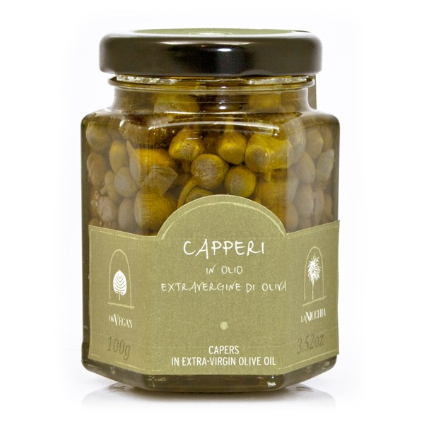 La Nicchia - Capers of Pantelleria since 1949 - Capers in Extra-Virgin Olive Oil - 100 g