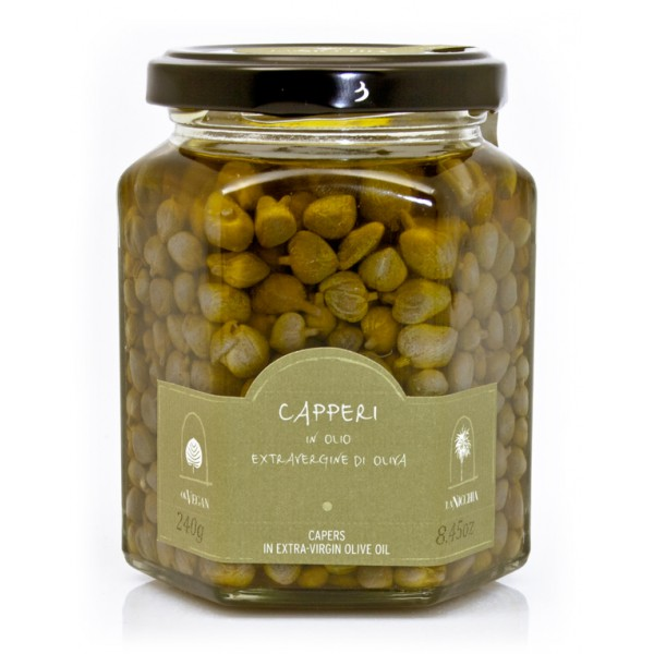 La Nicchia - Capers of Pantelleria since 1949 - Capers in Extra-Virgin Olive Oil - 240 g